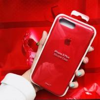 Чехол-накладка силиконовый Apple Silicone Case для iPhone 7 Plus (5.5) Красный под оригинал