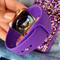 Ремешок спортивный Sport Band для Apple Watch 40мм/ 38мм, фиолетовый