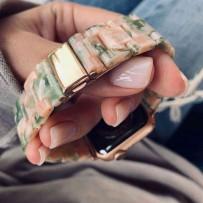 Ремешок керамический для Apple Watch 44мм/ 42мм, янтарный