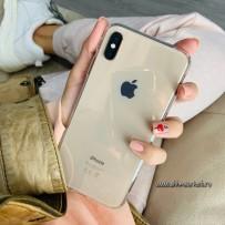 """Чехол силиконовый для iPhone XS Max (6.5"""") уплотненный (суперпрозрачный)"""