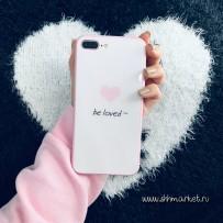 """Чехол """"Be loved"""" для iPhone 7/8"""