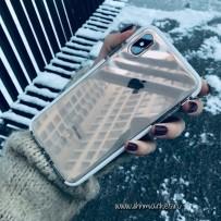 """Противоударный чехол """"Фруктовый лед"""" для iPhone XS Max, белый"""