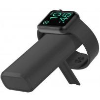Аккумулятор внешний универсальный & беспроводное зарядное для Apple Watch COTEetCI PB2 (PB5119-BK) 5200 mAh Черный