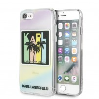 Чехол Karl Lagerfeld для iPhone 7/8 SE (2020) TPU collection Kalifornia Dreams Hard Iridescent