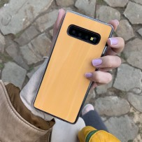 """Чехол """"Голограмма"""" для Samsung Galaxy S10, оранжевый"""