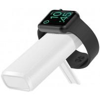Аккумулятор внешний универсальный & беспроводное зарядное для Apple Watch COTEetCI PB2 (PB5119-WH) 5200 mAh Белый