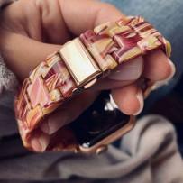 Ремешок керамический для Apple Watch 44мм/ 42мм, спелая вишня