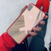 """Противоударный чехол """"Фруктовый лед"""" для iPhone XS Max, красный"""