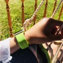 Ремешок спортивный COTEetCI W3 Sport Band (CS2085-GR) для Apple Watch 40мм/ 38мм Зеленый
