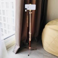 Монопод для селфи COTEetCI Aluminum Self-Stick (Bluetooth) CS5107-CE алюминиевый, 1000мм Золотистый