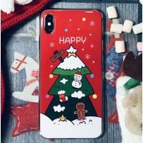 Чехол для iPhone XS/X «Новогодняя ёлка»
