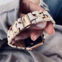 Ремешок керамический для Apple Watch 40мм/ 38мм, белый