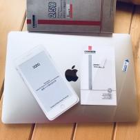 """Стекло защитное 2,5D для iPhone 7/8Plus (5.5"""") полноэкранное, белое + пленка на заднюю панель"""