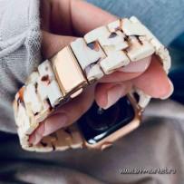 Ремешок керамический для Apple Watch 44мм/ 42мм, белый