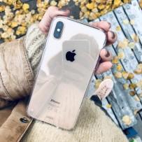Противоударный чехол-лёд для iPhone XS/ X, кристально-прозрачный