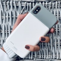 "Аккумулятор-чехол внешний Remax Power Bank Case 3200 mAh (PN-04) для iPhone XS/ X (5.8"") белый"