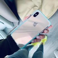 """Противоударный чехол """"Фруктовый лед"""" для iPhone XS Max, мятный"""