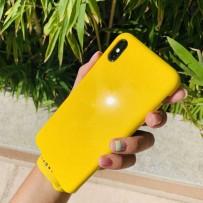 """Чехол """"Лимонный блеск"""" для iPhone XS/ X"""