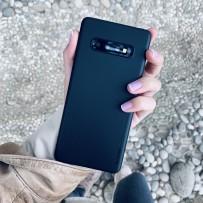 Чехол ультратонкий Memumi, 0,3мм для Samsung Galaxy S10, черный матовый