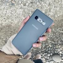 Чехол ультратонкий Memumi, 0,3мм для Samsung Galaxy S10, прозрачный матовый