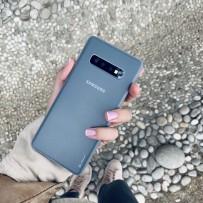 Чехол ультратонкий Memumi, 0,3мм для Samsung Galaxy S10 Plus, прозрачный матовый