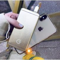 """Зарядное устройство """"GN"""" алюминий золото 5000 mAh"""