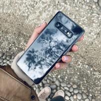 Чехол ультратонкий силиконовый для Samsung GALAXY S10 тонкий 0.6 мм, кристально-прозрачный