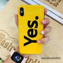 "Чехол ""Yes"" для iPhone XS MAX"
