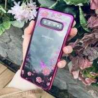 """Чехол """"Розовые розы"""" для Samsung Galaxy S10"""