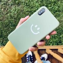 "Чехол ""Smile"" для iPhone XS MAX, бархатистый"