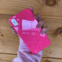 "Чехол ""Глянец"" для iPhone XS MAX, фуксия"