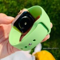 Ремешок спортивный Sport Band для Apple Watch 40мм/ 38мм, мятно-салатовый