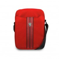 "Сумка Ferrari для планшетов 10"" Urban Bag Nylon/PU Carbon Red"