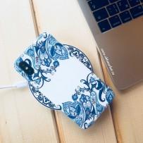 """Комплект Чехол """"Beckbetg"""" для iPhone XS/ X и Беспроводное зарядное устройство I-Carer"""