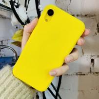 """Чехол силиконовый """"Ultra Slim"""" для iPhone XR, ананасовый"""