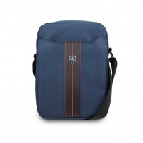 "Сумка Ferrari для планшетов 10"" Urban Bag Nylon/PU Carbon Navy blue"