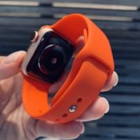 Ремешок спортивный Sport Band для Apple Watch 40мм/ 38мм, коралловый