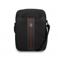 "Сумка Ferrari для планшетов 10"" Urban Bag Nylon/PU Carbon Black"