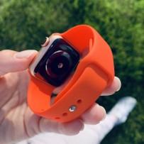 Ремешок спортивный Sport Band для Apple Watch 44мм/ 42мм, коралловый