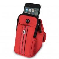 Чехол Ferrari для смартфонов на плечо Armband Red