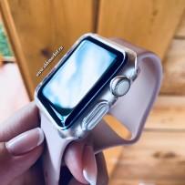 Чехол силиконовый COTEetCI TPU case для Apple Watch Series 3/ 2 (CS7041-TT) 42мм Прозрачный
