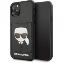 Чехол KARL Lagerfeld, для iPhone 11 Pro Max (KLHCN65CSKCBK)