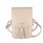 Сумка Guess для смартфонов Wallet Bag Saffiano look Beige (GUWBSSABE)