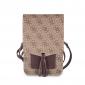 Сумка Guess для смартфонов Wallet Bag 4G Beige (GUWBSQGBE)